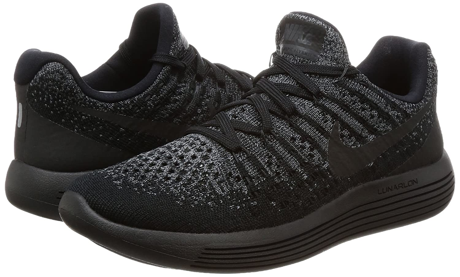 NIKE Women's Lunarepic Low B07468CYLX Flyknit 2 Running Shoe B07468CYLX Low 10.5 B(M) US|Black/Dark Grey/Racer Blue/Black 6e20cc