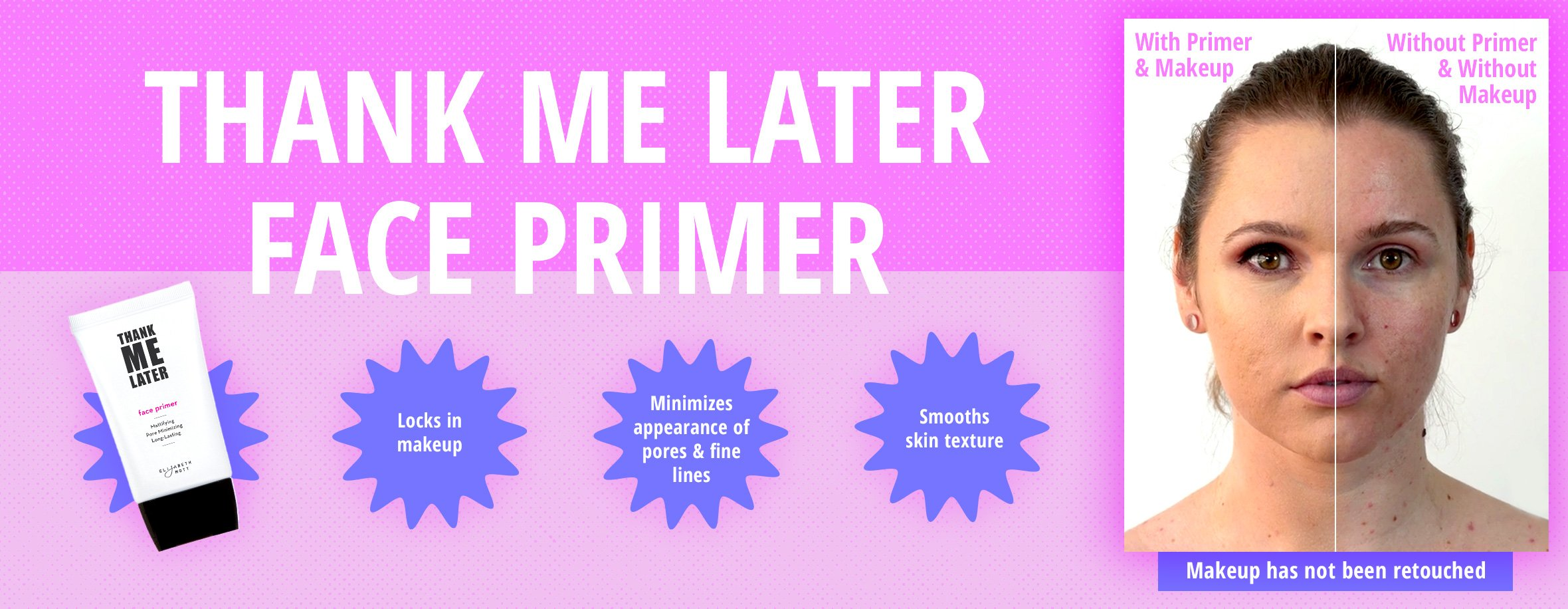 Thank Me Later Primer. Paraben-free and Cruelty Free. … Face Primer (30G) by Elizabeth Mott (Image #5)