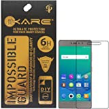 Gionee S6s Screen Protector, iKare Impossible Fiber Tempered Glass Screen Protector for Gionee S6s (REUSABLE, ULTRA CLEAR, REAL SHOCK PROOF, UNBREAKABLE)