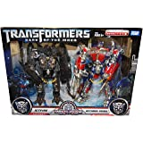 Overseas Limited Transformers Movie Buster Optimus Prime & Jet Fire (japan import)