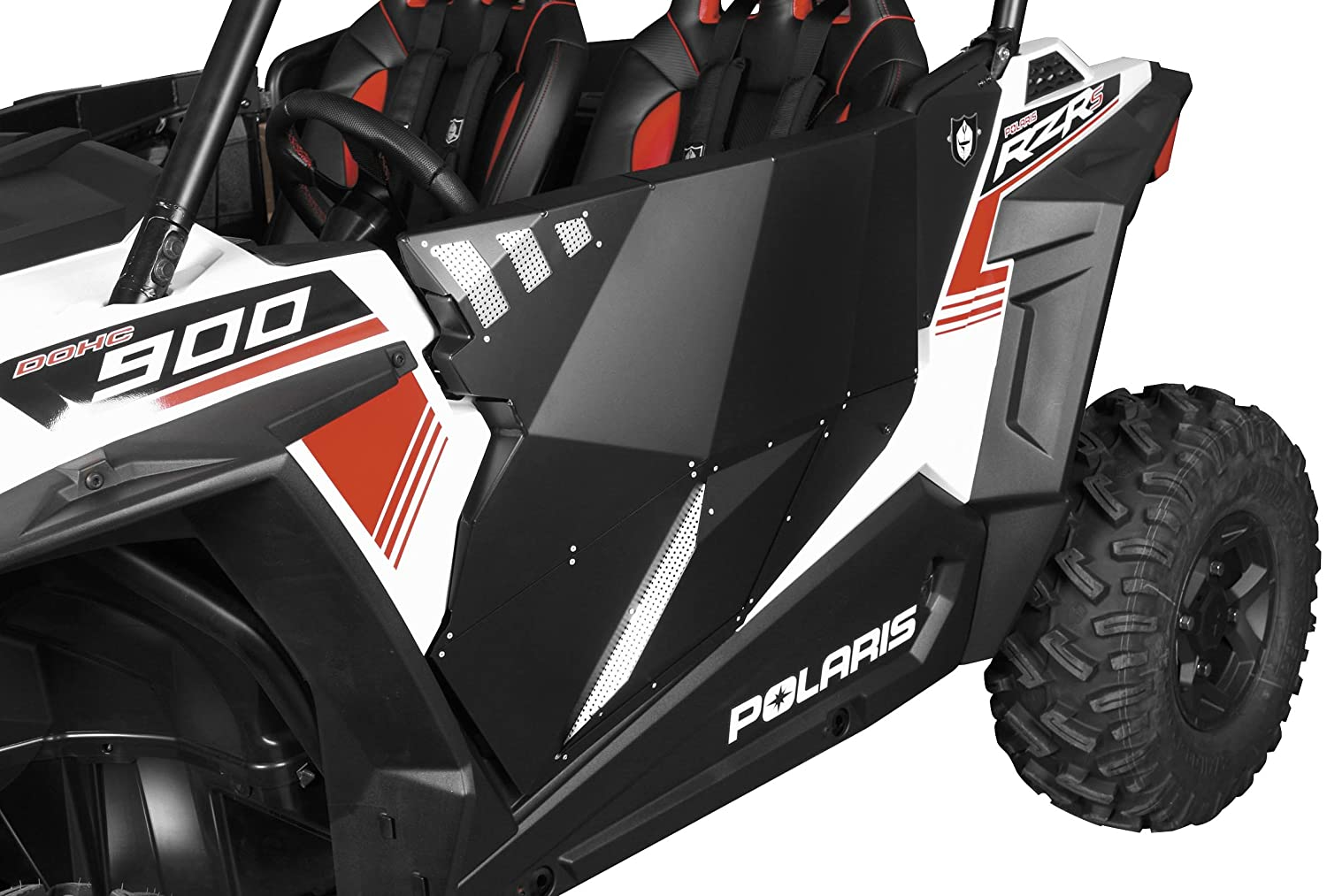 Pro Armor RZR XP4 1000 Black Aluminum Stealth Door, 4 Doors, P144228BL