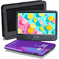 """SUNPIN Portable DVD Player 12.5"""" with HD Swivel Screen,Long Lasting Battery, Support USB/SD Card/Sync TV and Multiple…"""