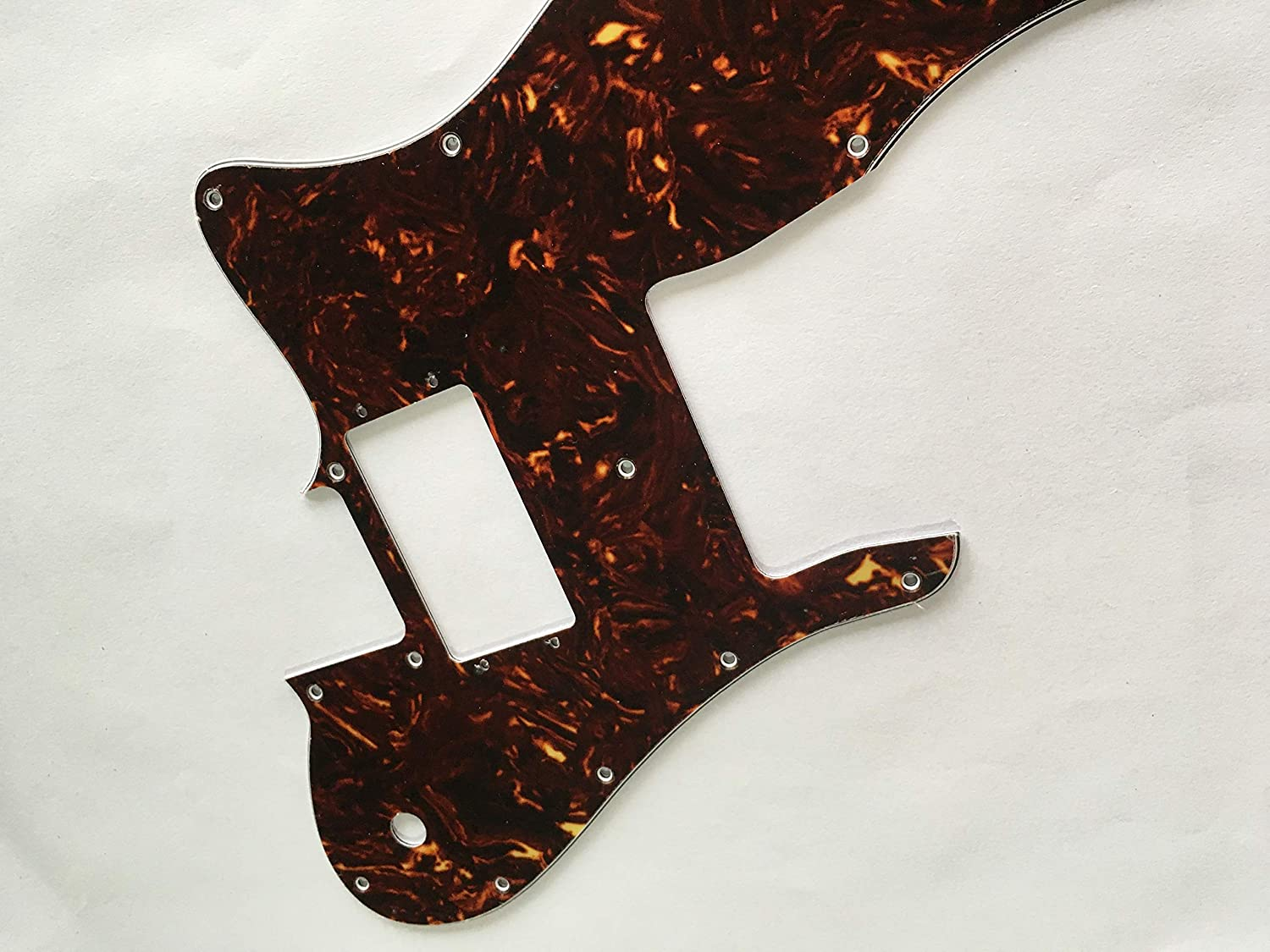3 Ply Black Custom For 72 Telecaster Re-lssue Wide Range Style Electric Guitar Pickguard