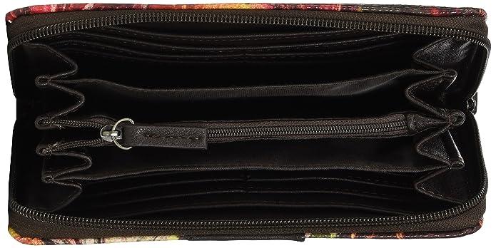 Acc Miri Fall, Womens Wallet, Mehrfarbig (Multi), 2.5 x 10.5 20 cm (W H D) Tom Tailor