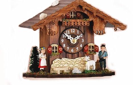 Reloj cucú - Reloj de mesa - HEIDI nos Peter - con cuco llama - Cuckoo