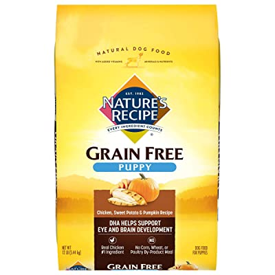Nature's Recipe Grain Free Puppy Dry Dog Food