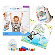 Kudo Banz Everyday Parenting Kit - Effective Incentive Toy Plus Kids Book. On The Go Behavior Reward Chart for Kids Wrist Plus Kids App. Award Winning Educational Toy (AS SEEN ON Shark Tank).