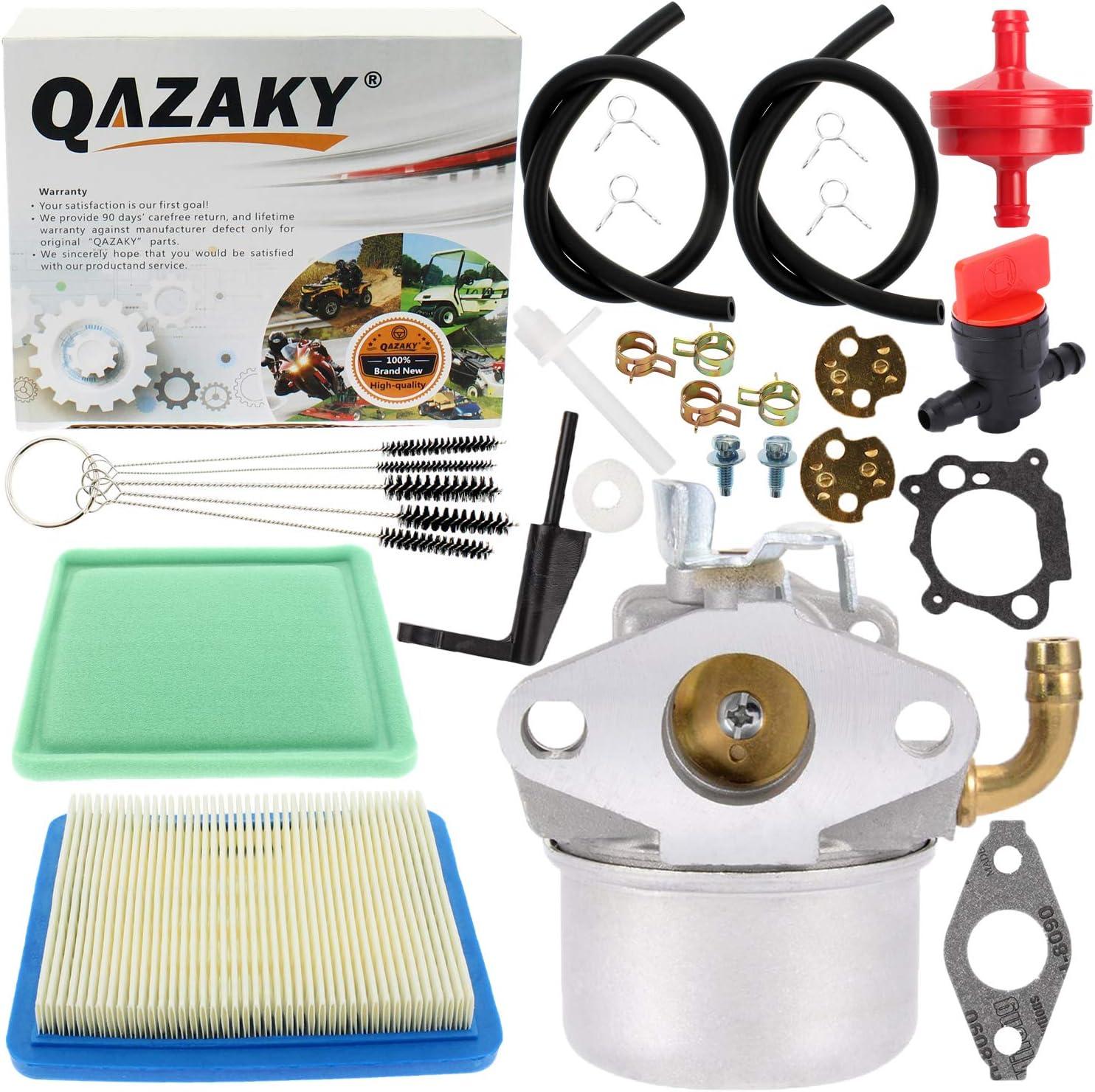 QAZAKY Carburetor Replacement for Briggs & Stratton 121012 121212 121232 121237 121252 121312 121332 121412 121415 121432 122012 124432 126302 126312 126317 126332 126352 126392 126402 126412 126415