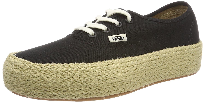 Vans Damen Authentic Platform ESP Sneaker  42.5 EU|Schwarz (Black Blk)