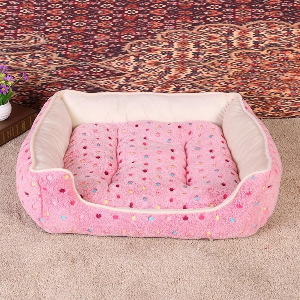 454015cm Lozse Pet Beds Pet Nest Warm Kennel Pet mat for Dogs and Cats Sleeping Cushion