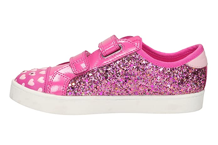 Clarks 2052-16F Pattie May INF Pink Kids Trainers: Amazon.co.uk: Shoes &  Bags