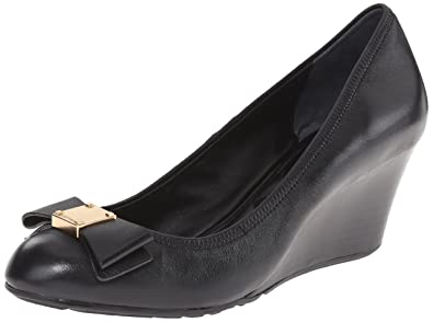 Cole Haan Women's Tali Grand Bow WDG65 Wedge, Black, ...