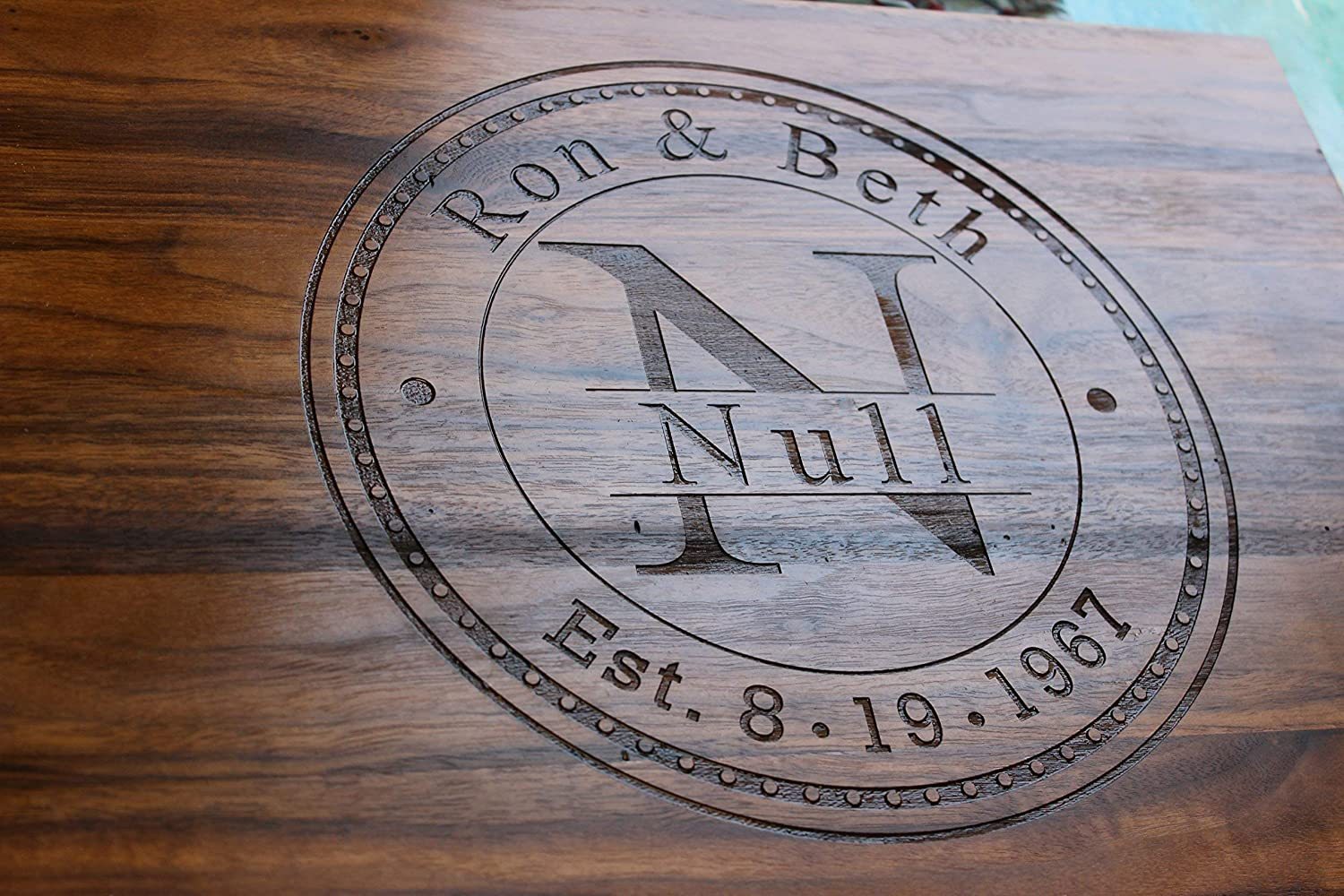 Anniversary Gifts, Wedding Gifts, Personalized Cutting Board, Engagement Gift, Anniversary gift for Men, Gift for her - Naked Wood Works