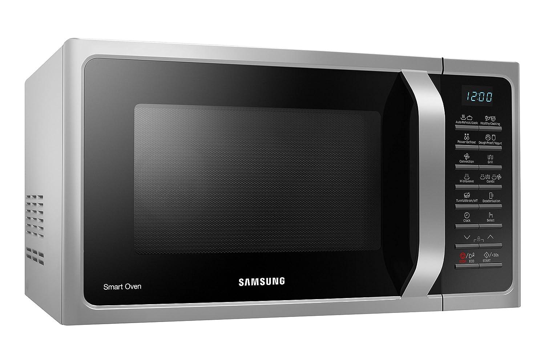 Samsung MC28H5015CS Encimera - Microondas (Encimera, Microondas combinado, 28 L, 900 W, Botones, Aluminio) color plata: Amazon.es: Hogar