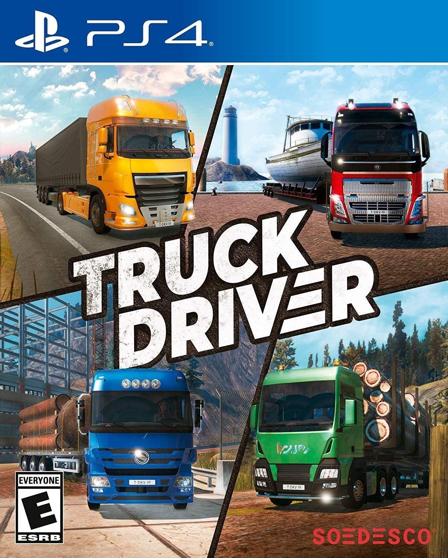 Amazon com: Truck Driver - PlayStation 4: Soedesco