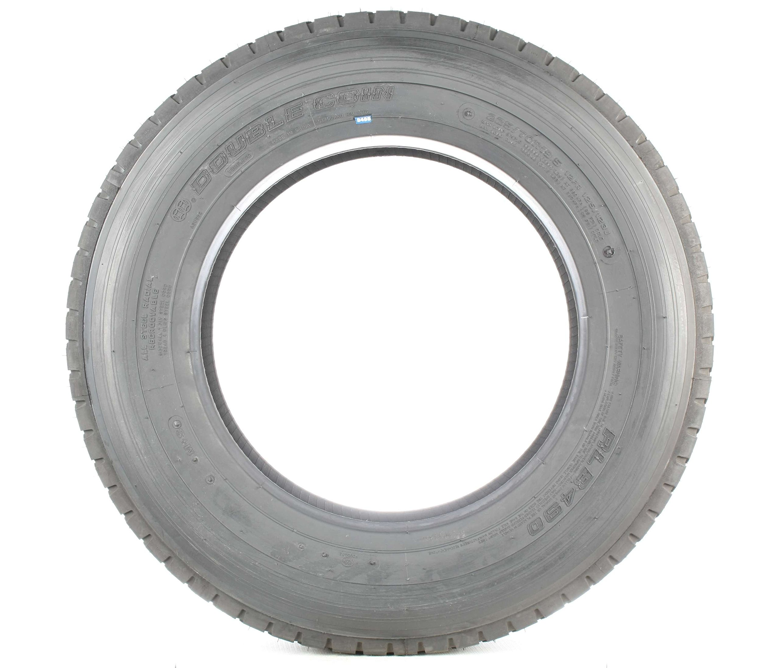 Double Coin RLB490 Low Profile Drive-Position Multi-Use Commercial Radial Truck Tire - 225/70R19.5 12 ply by Double Coin (Image #4)