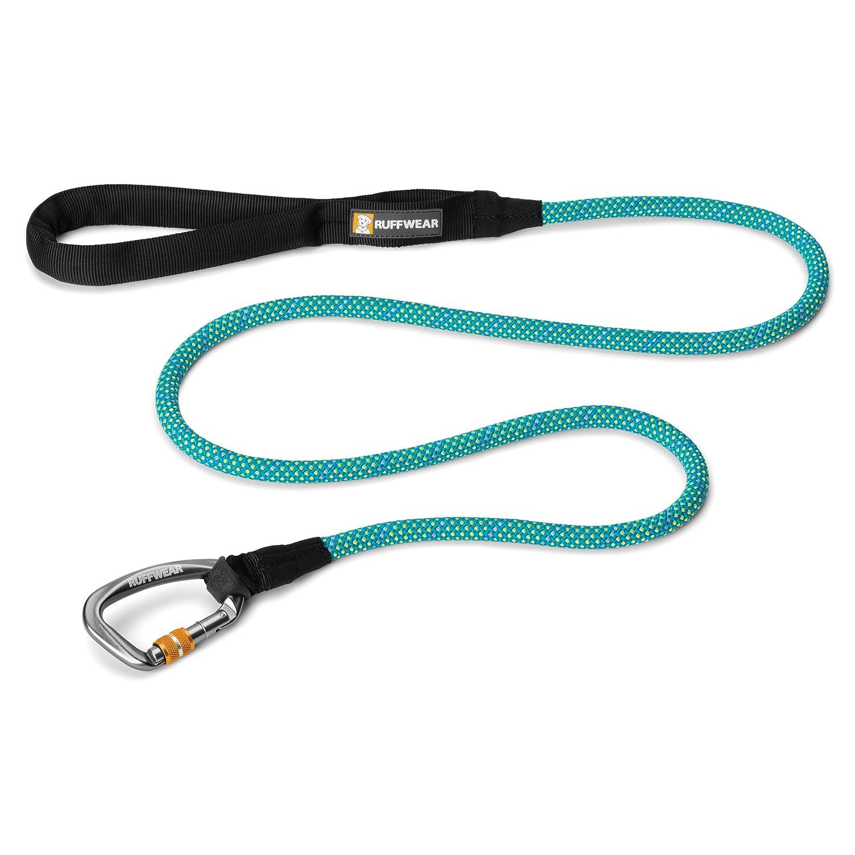 Ruffwear – knot-a-leash、反射犬リーシュ安全なロックカラビナ L ブルー 40203-447 B00R1UZLBA Blue Spring L