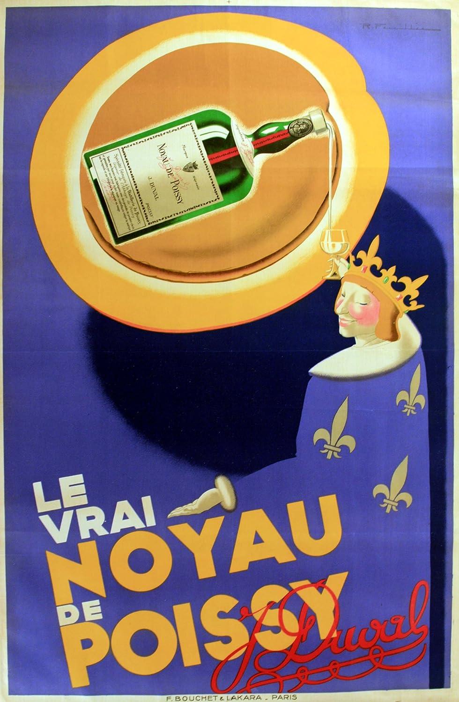 Original de la vendimia del Art déco del cartel de ...
