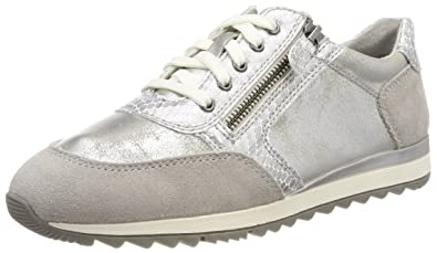 Jana 23602, Sneakers Basses Femme, Bleu (Navy Antic), 40 EU