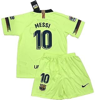 c7a3da939 TrendsNow New 2018 2019 Messi  10 FC Barcelona Away Jersey   Shorts for Kids
