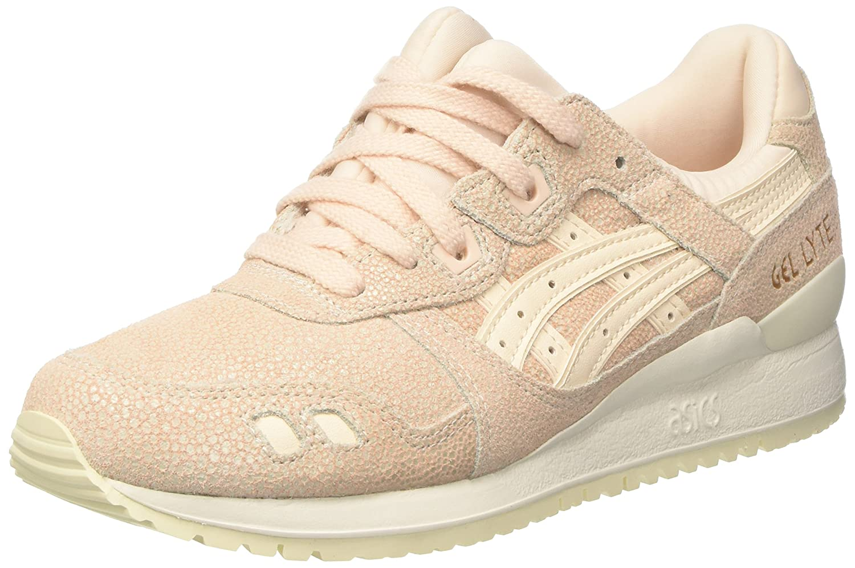 Asics Gel Lyte III - Sneakers Damen  38 EU|Pink (Vanilla Cream / Vanilla Cream)