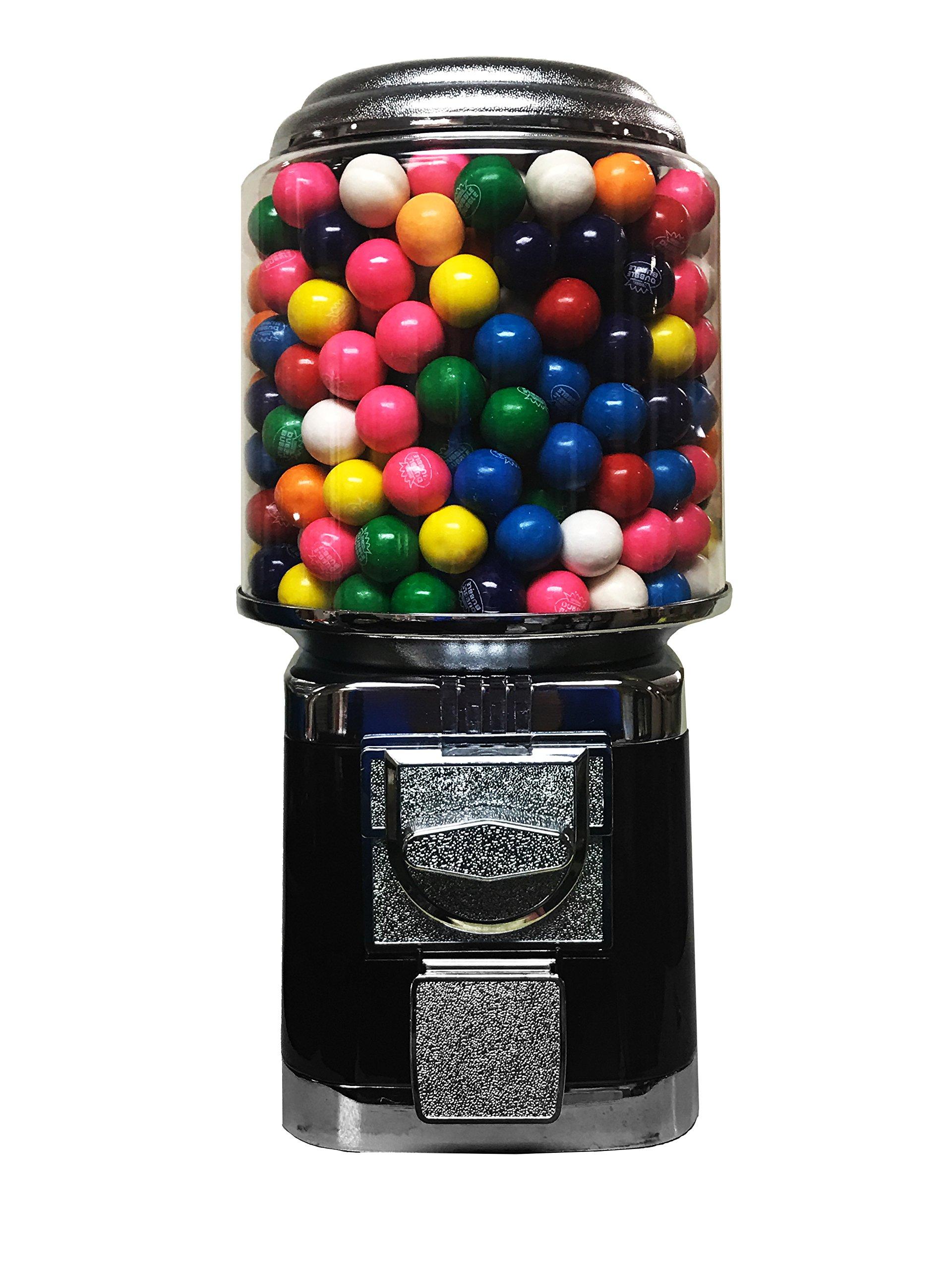 Wholesale Vending Products All Metal Bulk Vending Gumball Machine (Black)