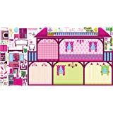 Mona Melisa Designs, Interactive Wall Play Set, Dollhouse