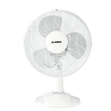 Super ALASKA Tischventilator DF 3009 | Weiß | Lüfter | 3 MP-11