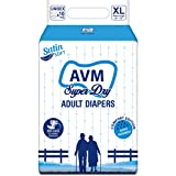 """AVM Super Dry Adult Diapers - Pack of 10 - Extra Large (Fits 57""""-78"""")"""
