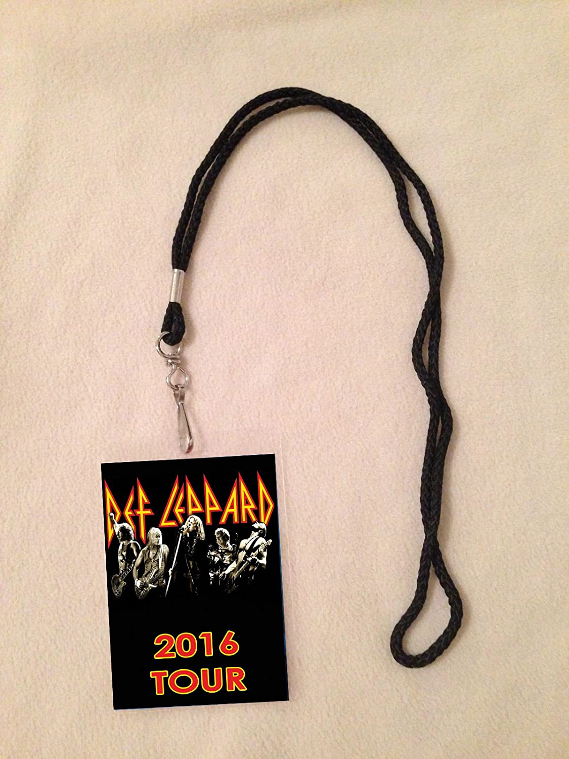 Amazon def leppard 2016 tour vip all access backstage meet amazon def leppard 2016 tour vip all access backstage meet greet package pass with lanyard everything else kristyandbryce Choice Image