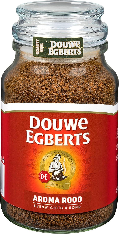 Douwe Egberts Aroma Rood Instant Coffee 200g Jar Amazon Co Uk Grocery