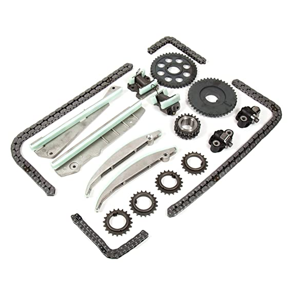 03 - 04 - Ford Mustang Lincoln Aviator 4,6 DOHC 32 V Kit de cadena de distribución: Amazon.es: Coche y moto