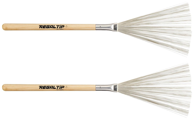 RegalTip 550W Drum Brushes Wood Handle Regal Tip