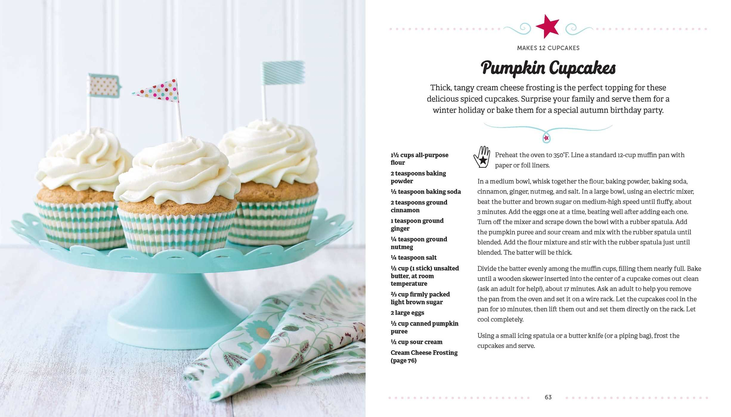 Amazon.com: American Girl Baking: Recipes For Cookies, Cupcakes U0026 More  (9781681880228): Williams Sonoma, American Girl: Books