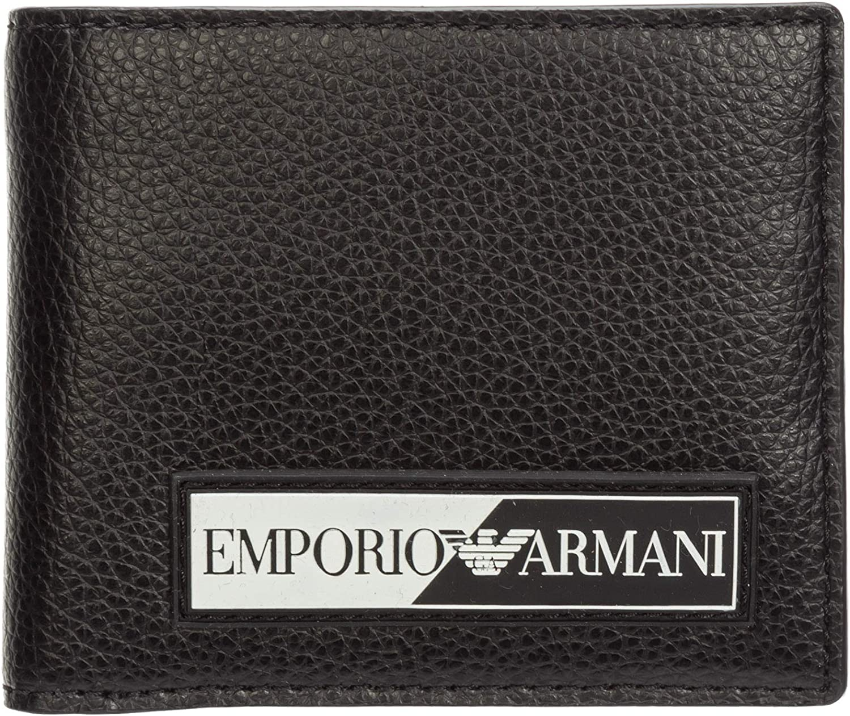 Emporio Armani hombre 100fringesquarenudist monedero black