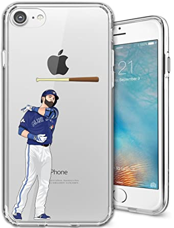 detailed look f9258 ec67e iPhone 7 Case, Chrry Cases Ultra Slim [Crystal Clear] [MLB Player ...
