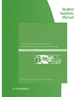 Applied regression analysis and other multivariable methods 005 student solutions manual for kleinbaums applied regression analysis and other multivariable methods fandeluxe Choice Image