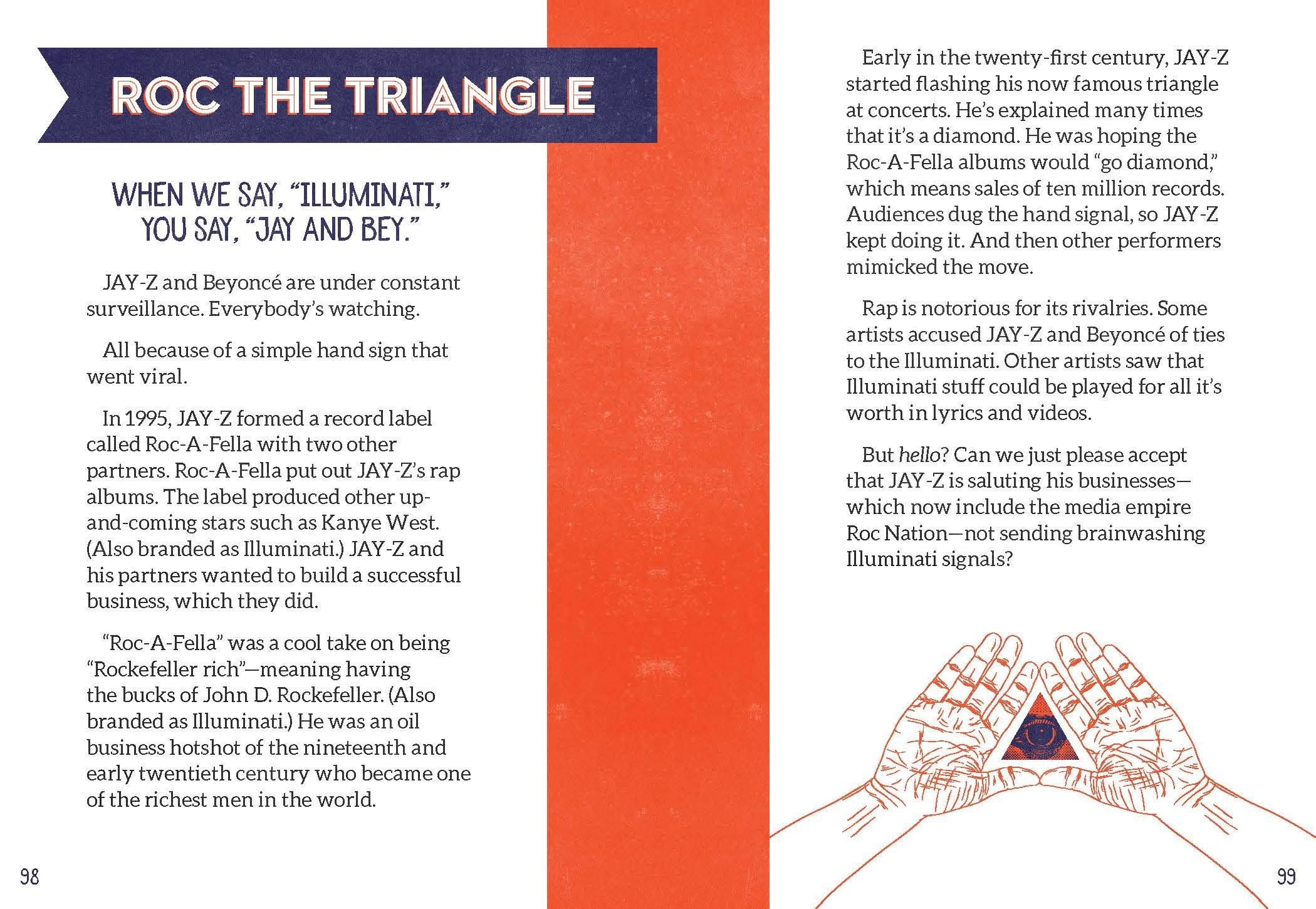 I Spy The Illuminati Eye Whats The Big Secret Sheila Keenan