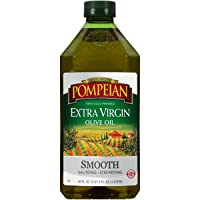 Pompeian Smooth Extra Virgin Olive Oil, First Cold Pressed, Mild and Delicate Flavor...