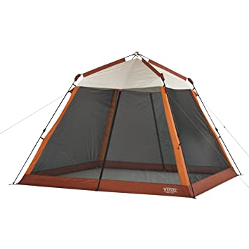 Wenzel EZ Rise Screen House 9.8 x 9.8-Feet  sc 1 st  Amazon.com : screen house tents - memphite.com