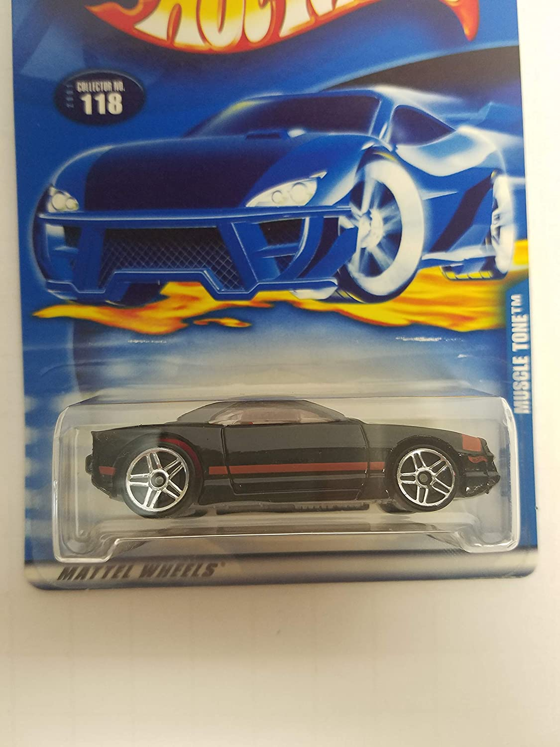 Muscle Tone Hot Wheels 2001 diecast 1/64 scale car No. 118