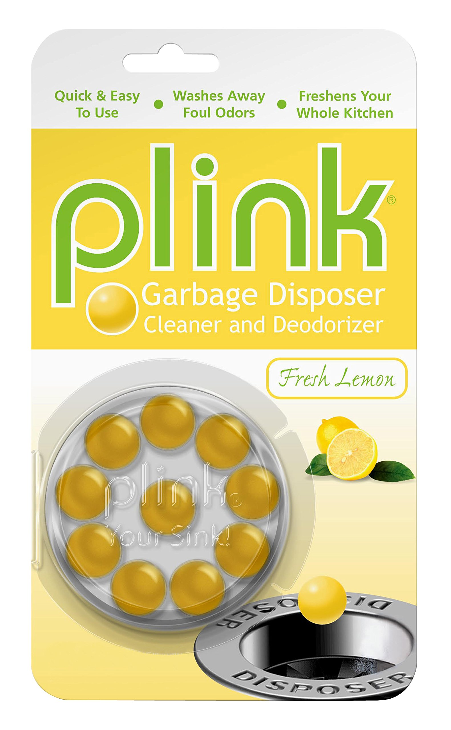Summit Brands Plink Garbage Disposal Cleaner and Deodorizer, Multi Scent Pack of 3, Value Pack, 30 Cleanings by Summit Brands (Image #3)