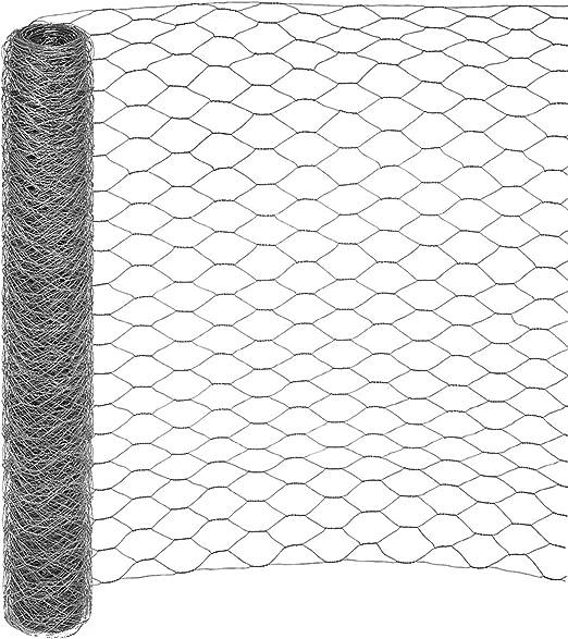 Sechseckgeflecht 13 mm Volierendraht Kaninchendraht Drahtgeflecht 50 cm hoch