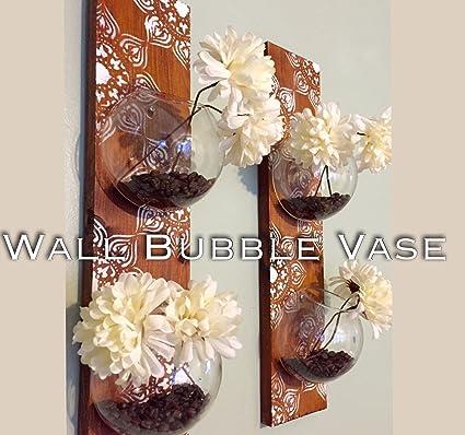Amazon Wall Bubble Vase Terrarium Home Kitchen