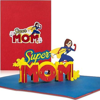 PaperCrush® Tarjeta Pop-Up Día de la Madre