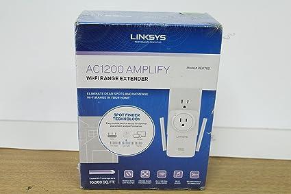 Linksys RE6700 Amplify AC1200 Dual-Band Wireless Range Extender Refurbished