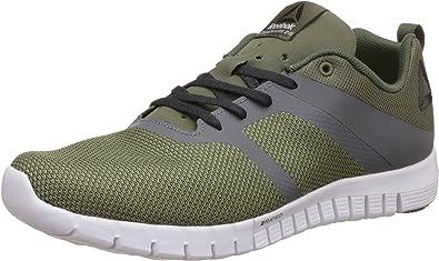 Reebok ZQuick Lite 2.0, Zapatillas de Trail Running para Hombre, Verde (Hunter Green/Ash Grey/Coal/Alloy/White), 42.5 EU: Amazon.es: Zapatos y complementos