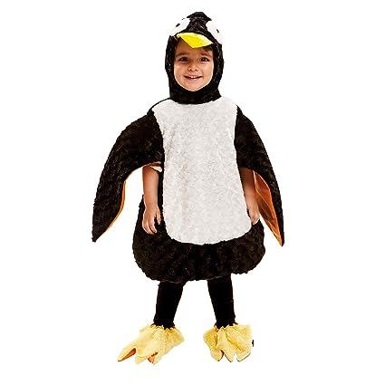 My Other Me Me-202400 Disfraz de pingüino de peluche, 3-4 años (Viving Costumes 202400