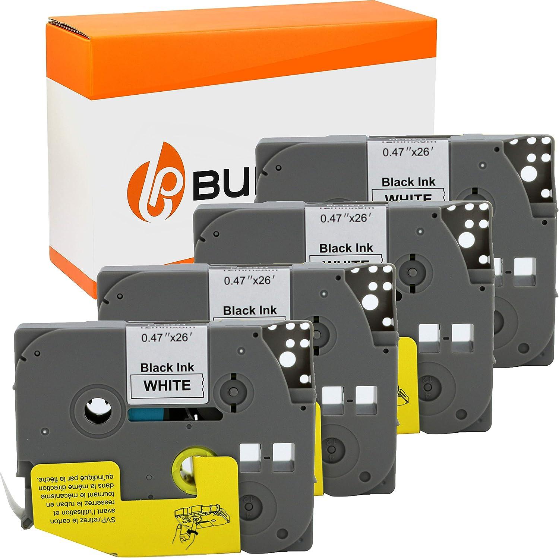 2x Kompatibel Schriftbänder für Brother P Touch-1830-VP Touch-1 Eco Plus