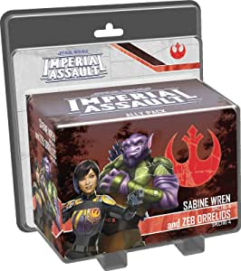 Star Wars Imperial Assault - Sabine Wren and Zeb Orrelios Ally Pack Board Game